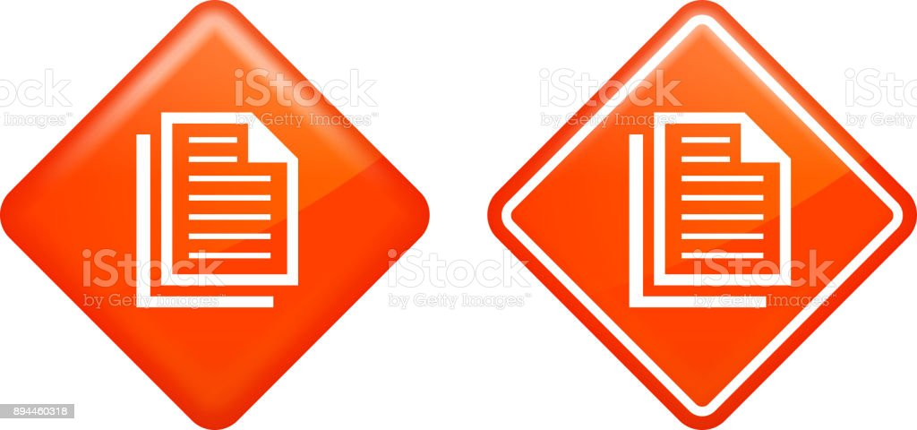 Paperwork Files. vector art illustration