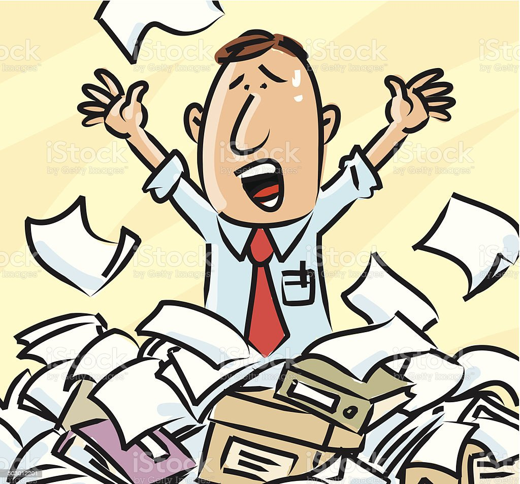 Paperwork royalty-free paperwork stock vector art & more images of adult