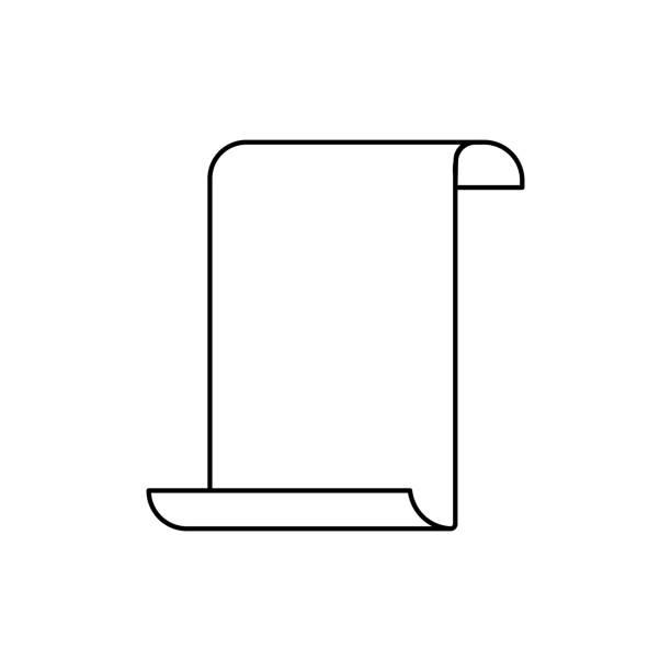 papirus icon vector art illustration