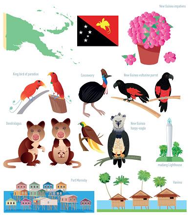 Papua New Guinea Symbols