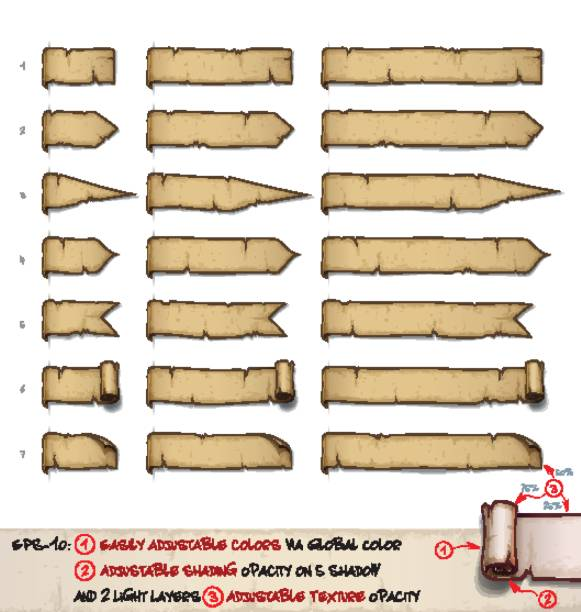 Best Medieval Scroll Illustrations, Royalty-Free Vector Graphics