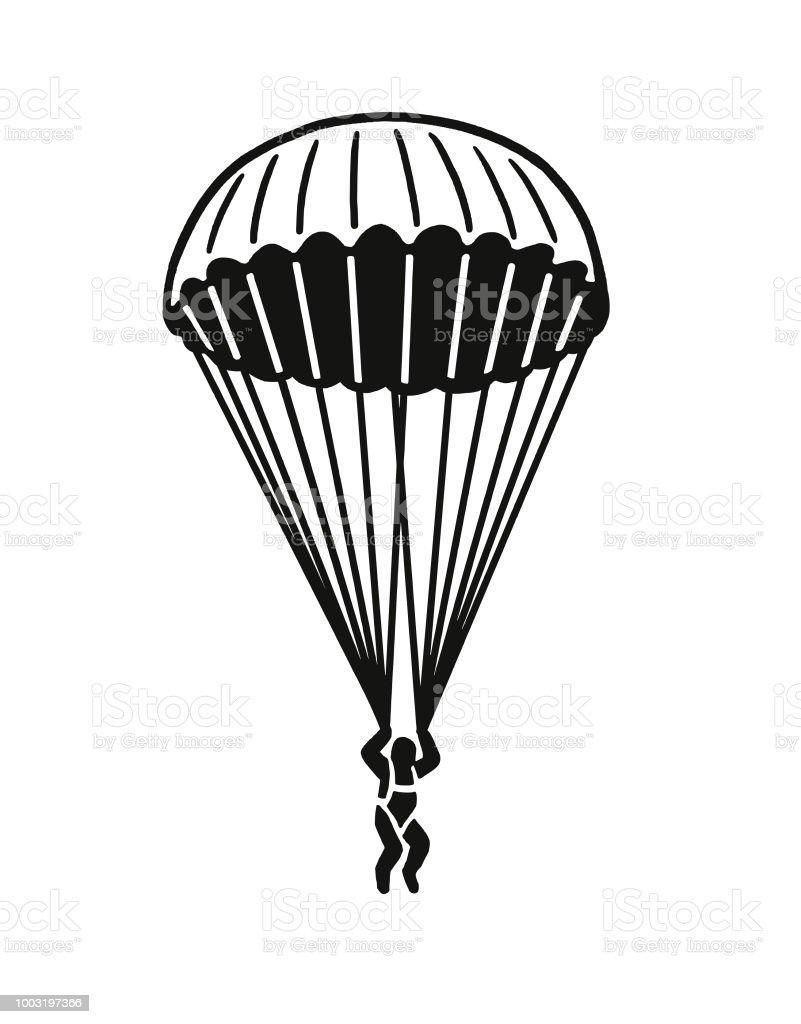 Ilustración de Puente De Paracaídas y más banco de imágenes de ...