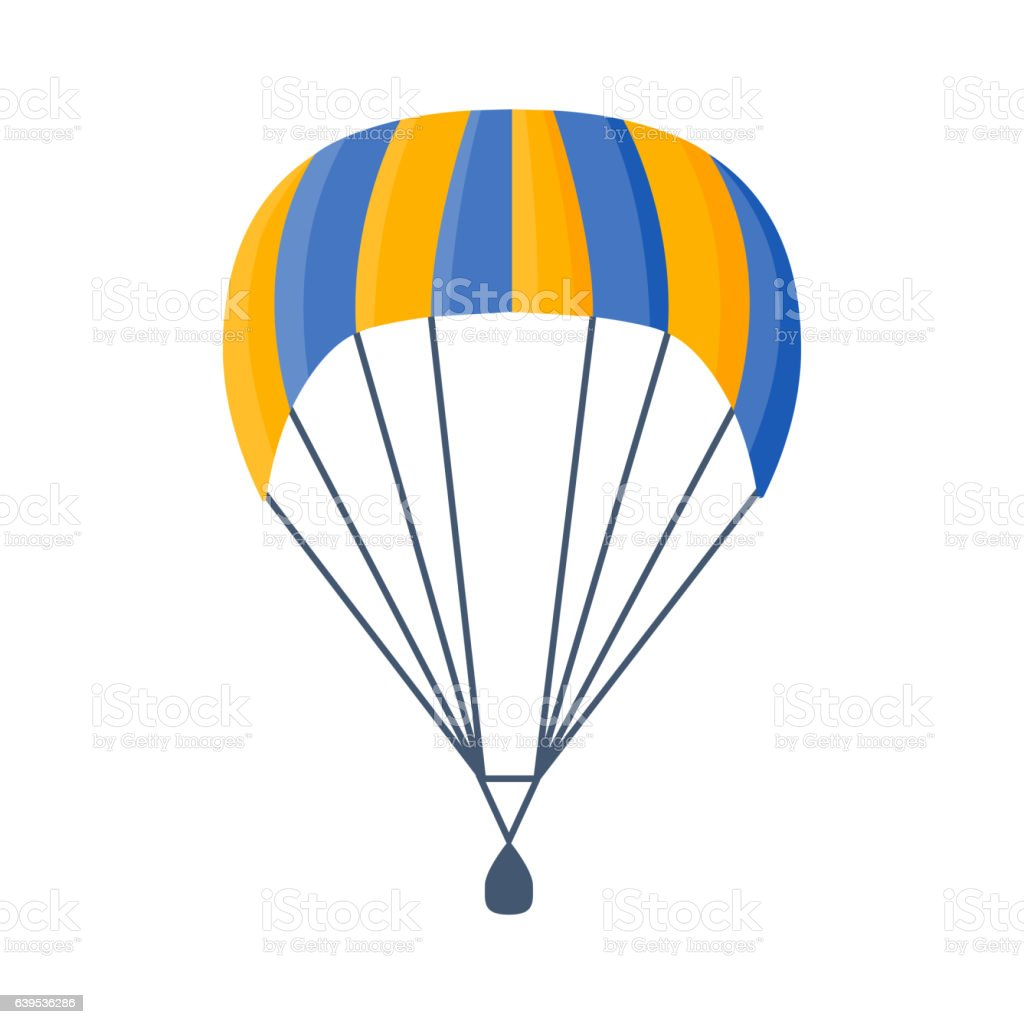 parachute vector illustration fly stock vector art more images of rh istockphoto com parachute vector free download parachute vector free download