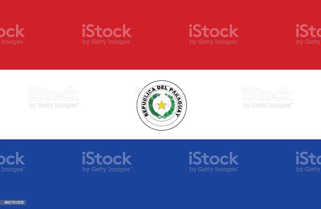 Paraguay - ilustración de arte vectorial