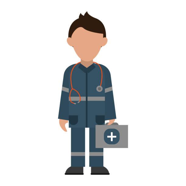 救急救命士のアバター アイコンの画像 - 救急救命士点のイラスト素材/クリップアート素材/マンガ素材/アイコン素材