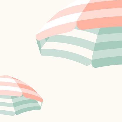 Parasol Beach Umbrella Background