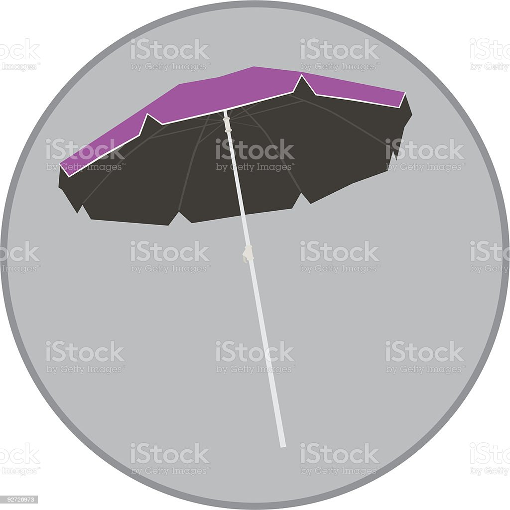 Parasol royalty-free parasol stock vector art & more images of beach