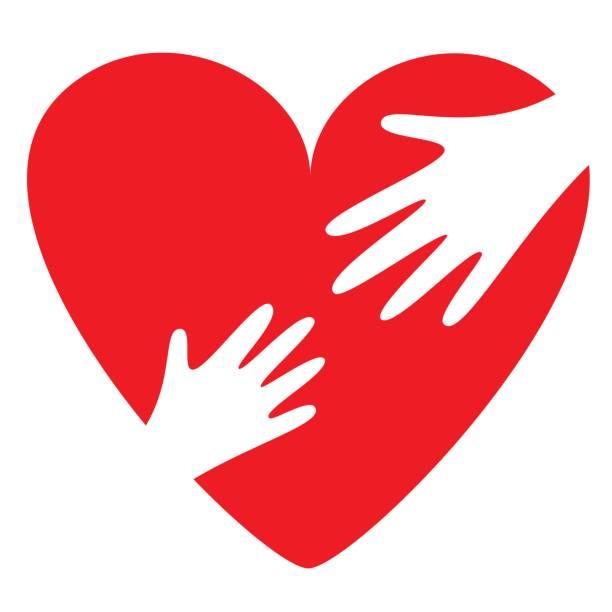 ilustrações de stock, clip art, desenhos animados e ícones de parent and child love and need for each other - coração fraco