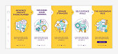 Parental care onboarding vector template. Child safety. Assault protection. Danger prevention for kids. Responsive mobile website with icons. Webpage walkthrough step screens. RGB color concept