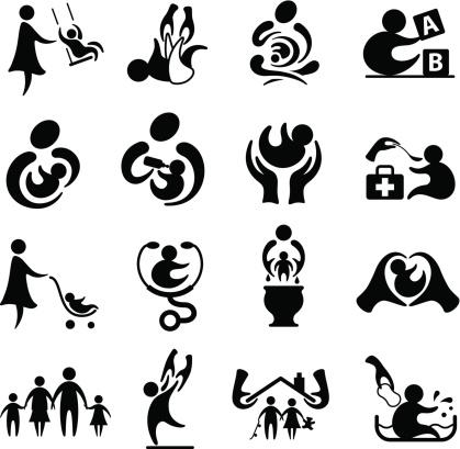 Parenting Icon Set