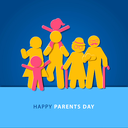 Parents Day Silhouette
