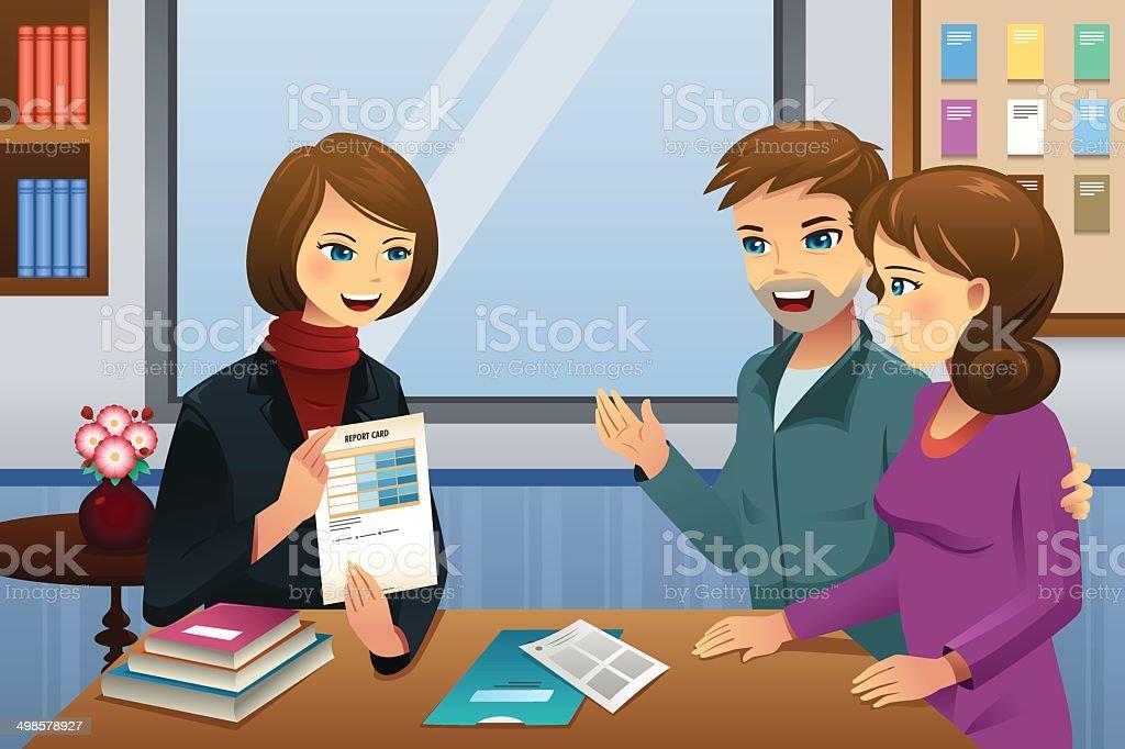 Parents and teachers clipart