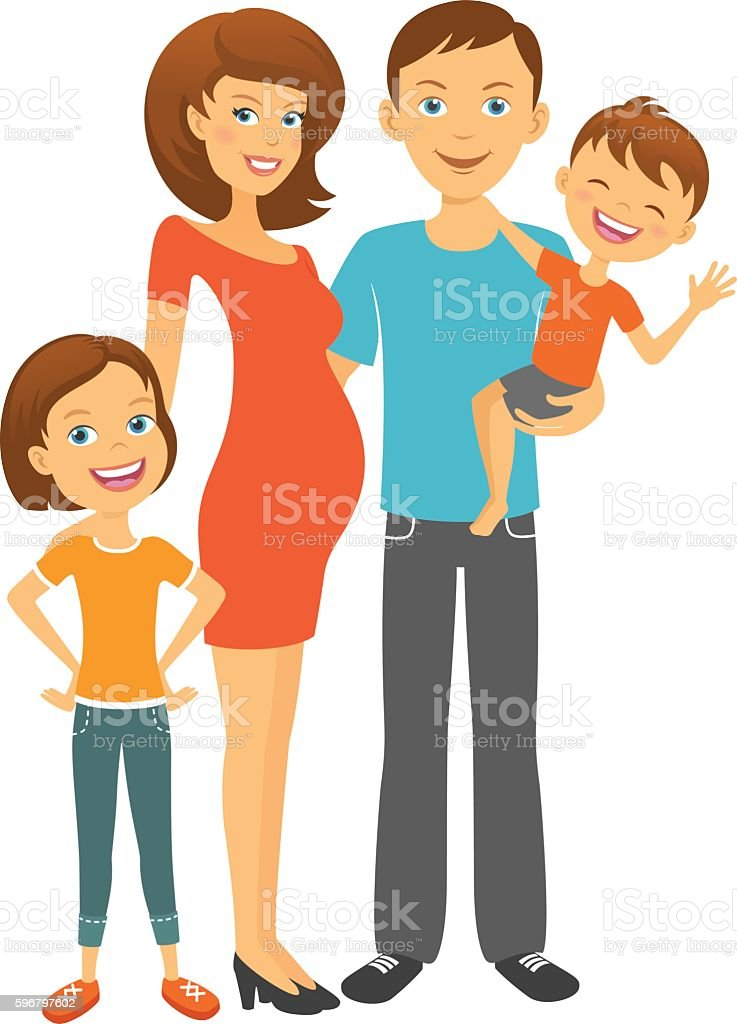 Parents with children happy parents mom and dad with kids stock parents with children happy parents mom and dad with kids royalty free parents thecheapjerseys Image collections