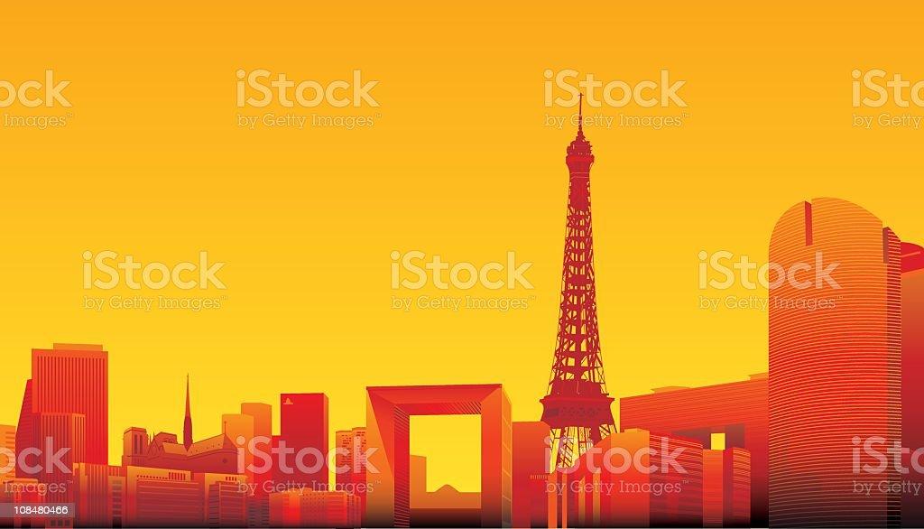 Paris royalty-free paris stock vector art & more images of architecture