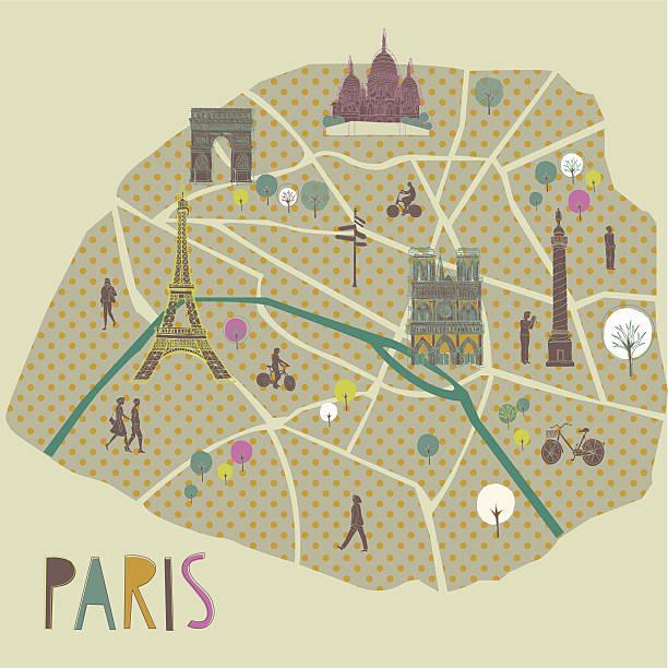 paris - paris stock illustrations, clip art, cartoons, & icons