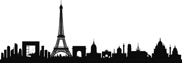 bildbanksillustrationer, clip art samt tecknat material och ikoner med paris (buildings can be moved) - paris