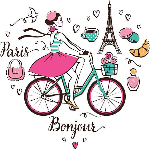 パリ  - フランス料理点のイラスト素材/クリップアート素材/マンガ素材/アイコン素材
