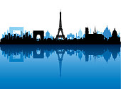 Paris, France. All buildings are complete and moveable.