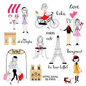Parisian lifestyle. Everyday life of Parisians.