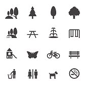park and outdoor icons
