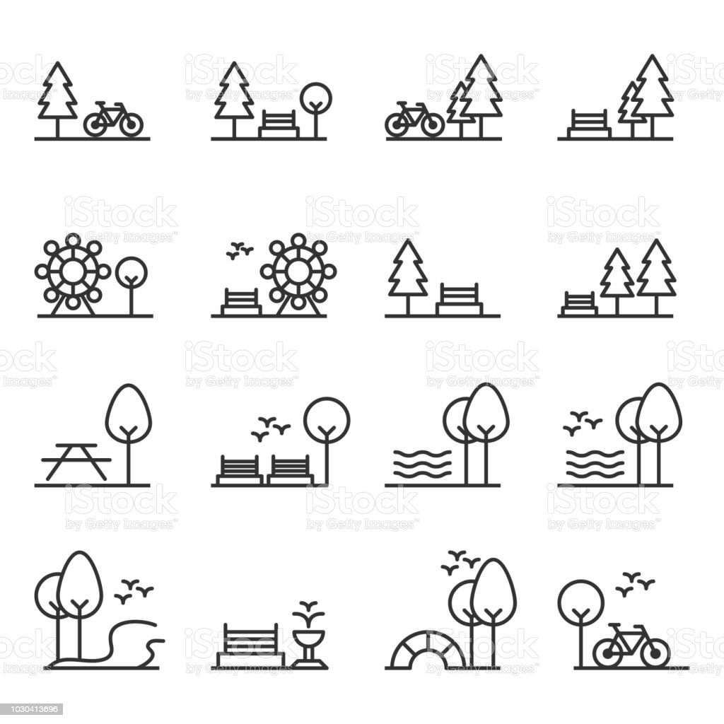 park icon vector stock illustration download image now istock park icon vector stock illustration download image now istock