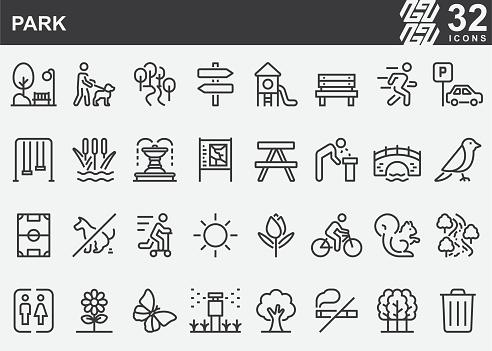 Park Line Icons