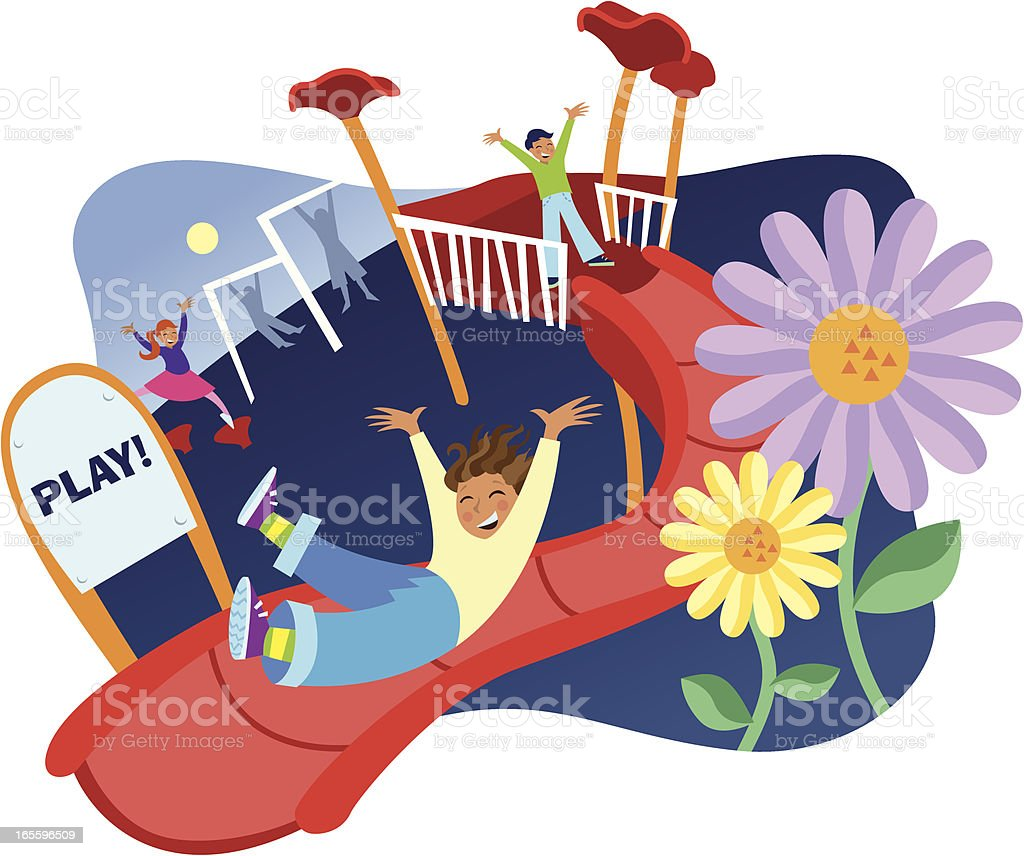 Park Playground royalty-free park playground stock vector art & more images of activity