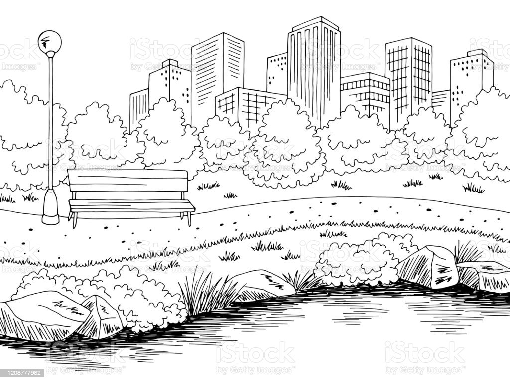 park river graphic black white city landscape sketch illustration vector stock illustration download image now istock park river graphic black white city landscape sketch illustration vector stock illustration download image now istock