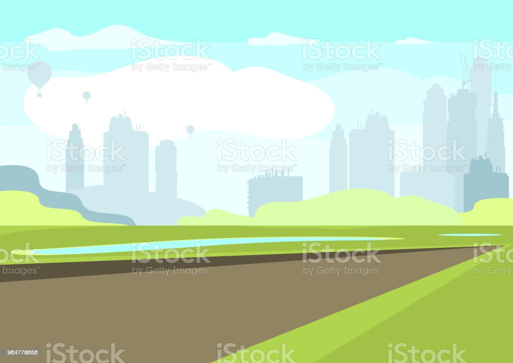 Park royalty-free park stock illustration - download image now
