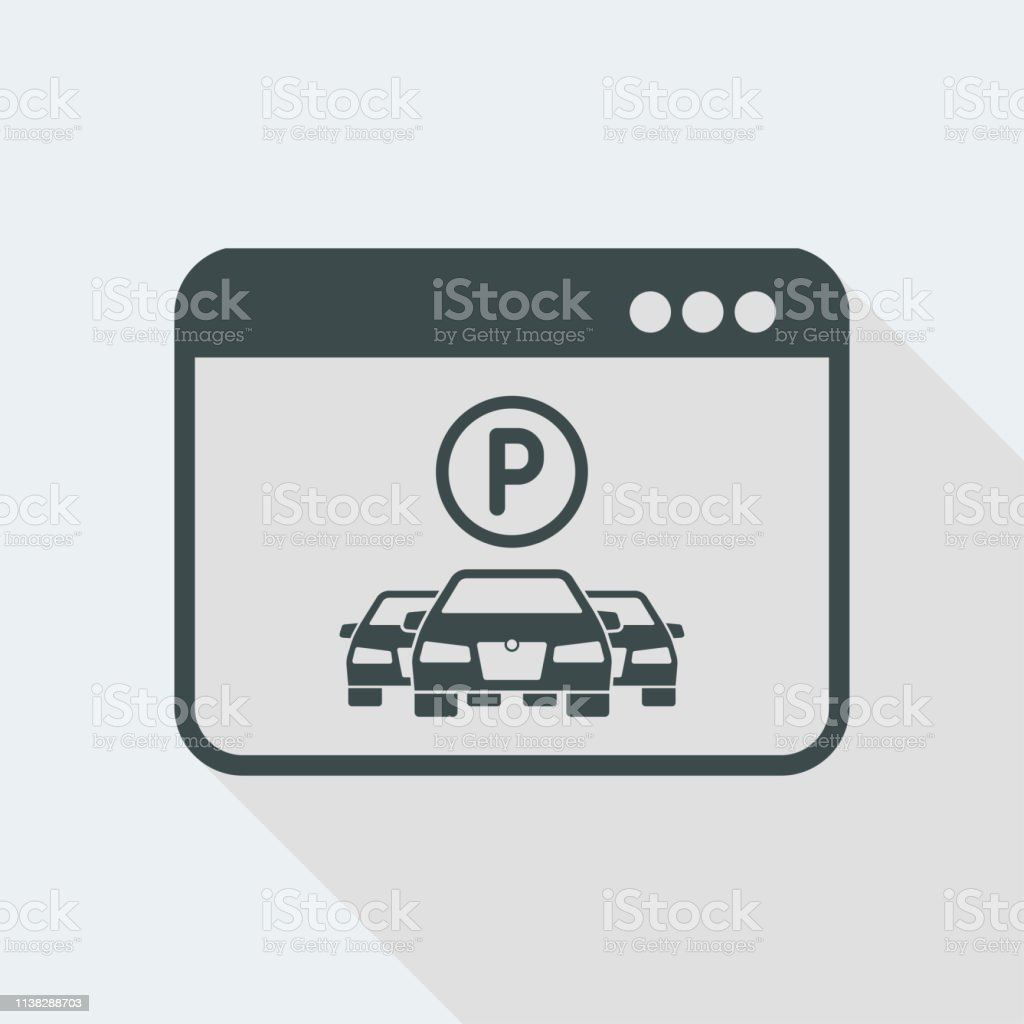Parking Car Service Application Stock Illustration Download Image Now Istock