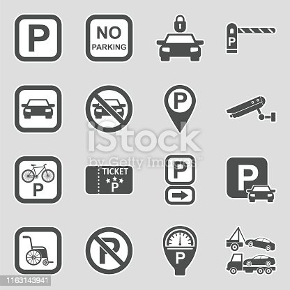Parking, Ticket, Lot, Meter, Sign