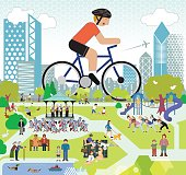 Parklife, Cycling