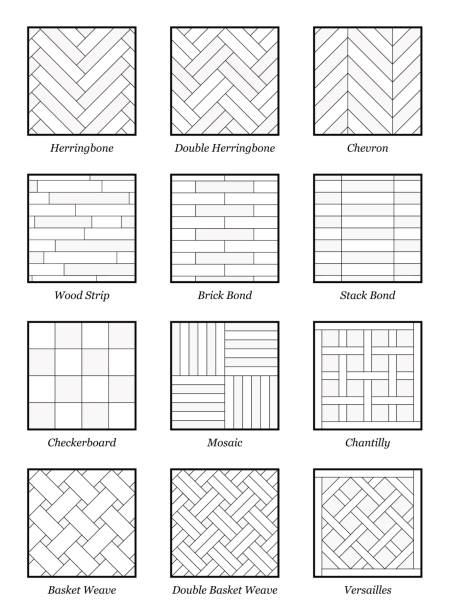 Best Herringbone Pattern Illustrations Royalty Free