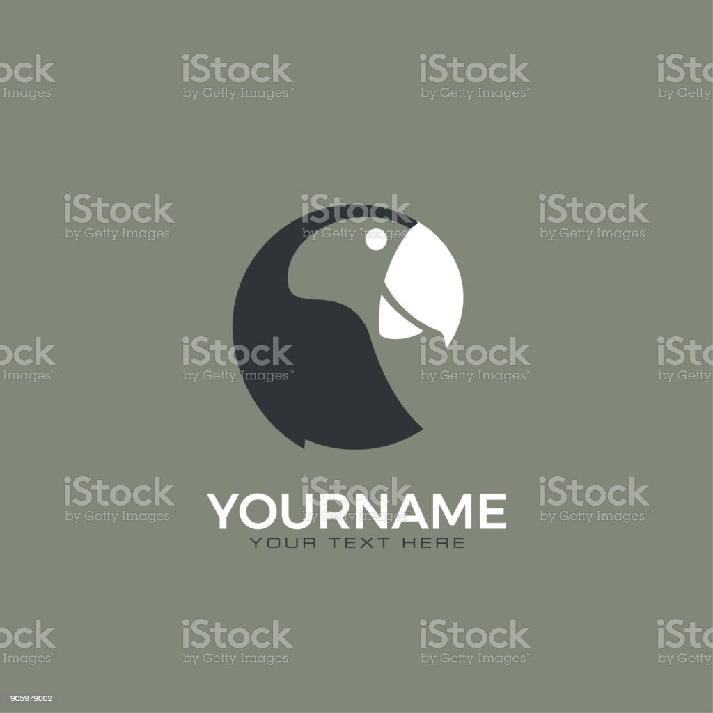 Parrot icon. royalty-free parrot icon stock illustration - download image now