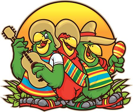Parrot Trio