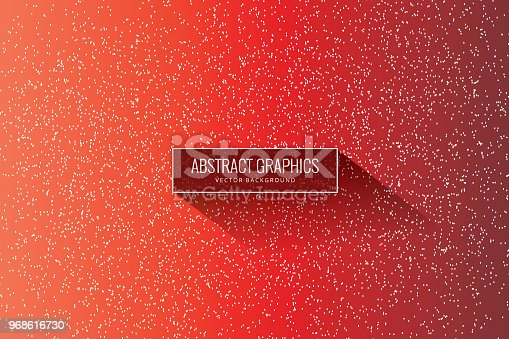istock Particle Red background 968616730