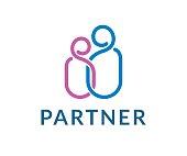 Partner vector icon