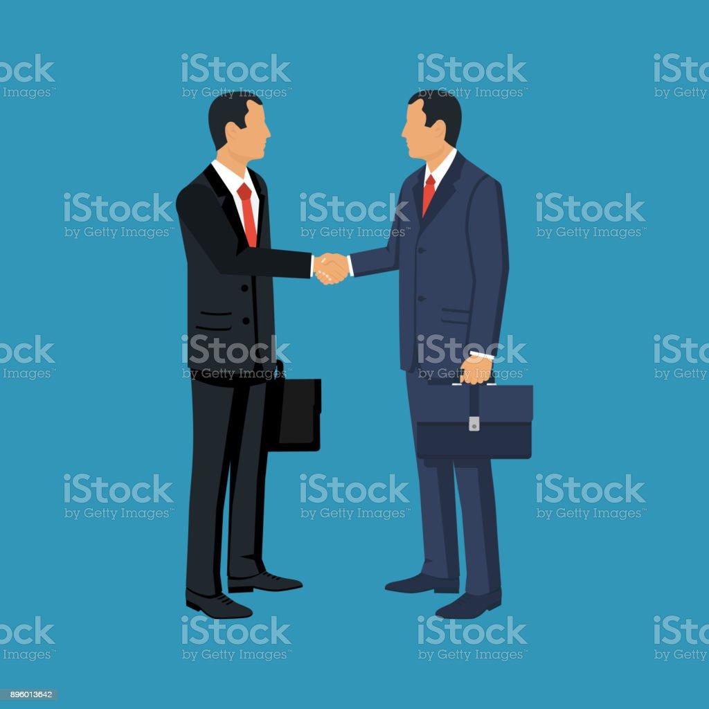 Partnership concept vector vector art illustration