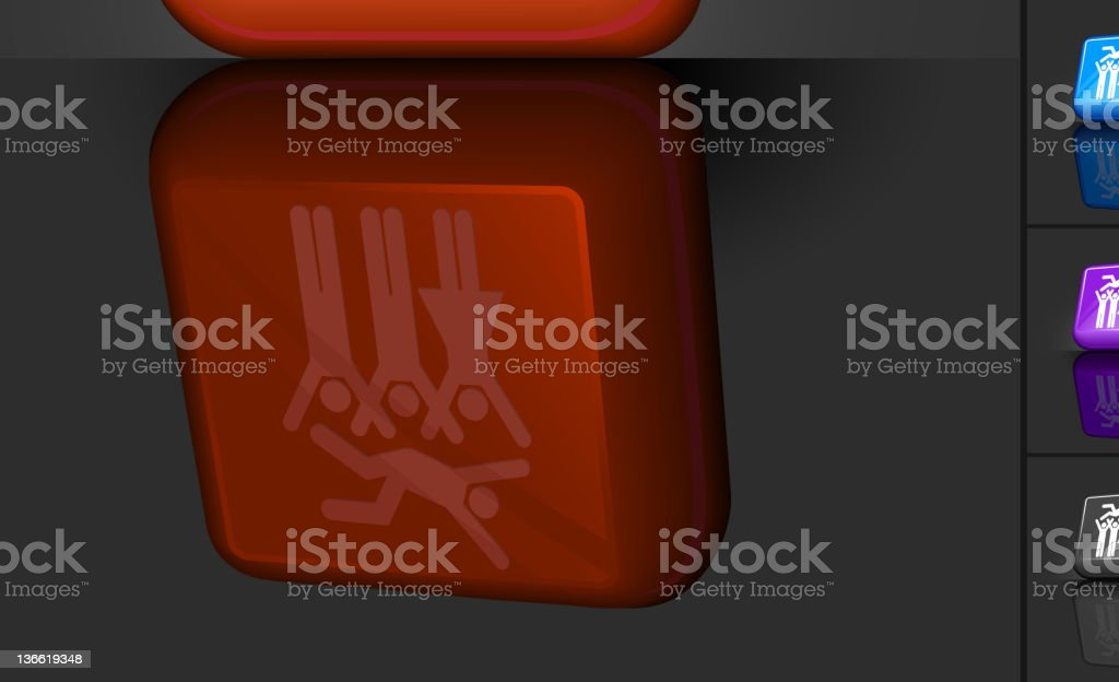 party 3D button design royalty-free party 3d button design stock vector art & more images of arms outstretched