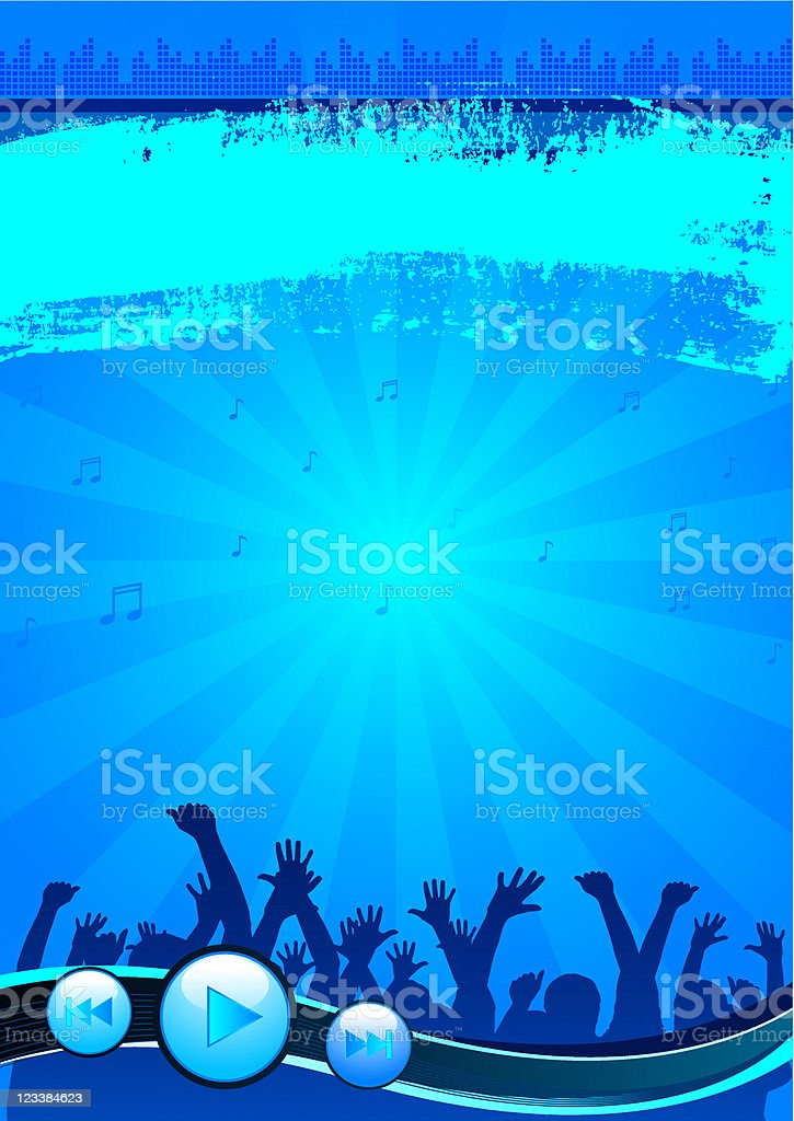 Party background royalty-free stock vector art