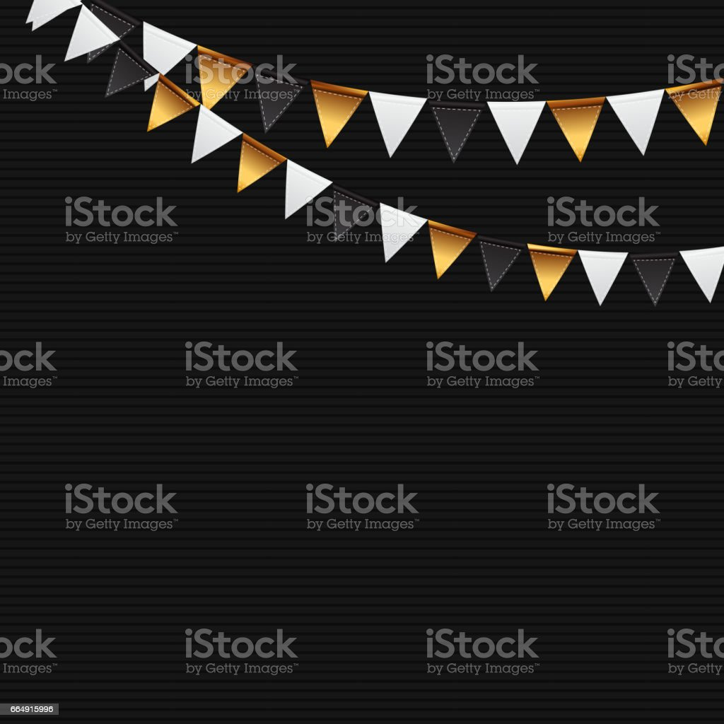 Party Background with Flags Illustration party background with flags illustration - immagini vettoriali stock e altre immagini di affari royalty-free