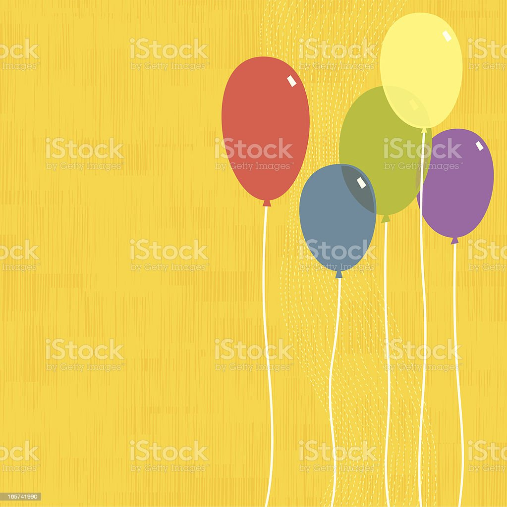 Party Balloons royalty-free party balloons stock vector art & more images of backgrounds