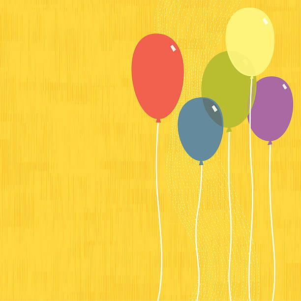 Party Balloons vector art illustration
