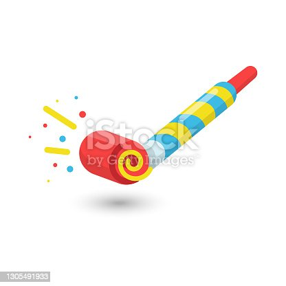 istock Party Blower Icon Vector Design. 1305491933