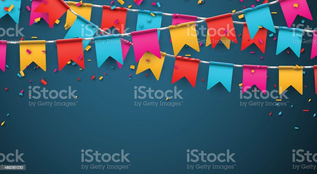 Party celebration background vector art illustration