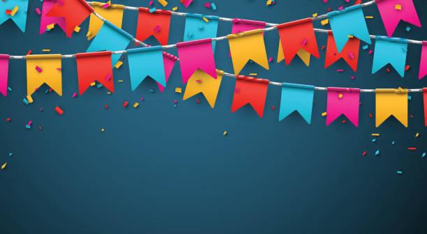 Party Feier Hintergrund – Vektorgrafik