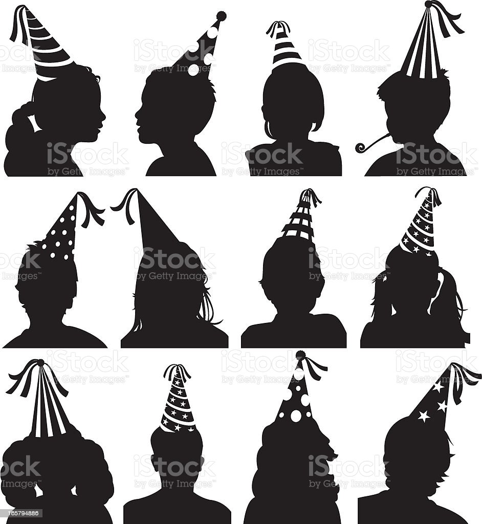 Party Children royalty-free stock vector art