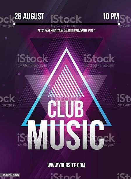 Party flyer club music flyer dj lineup design vector template vector id490282958?b=1&k=6&m=490282958&s=612x612&h=mjzsa7v5oehnfpdfli9gndc50j6zjcitjnssamprxk8=
