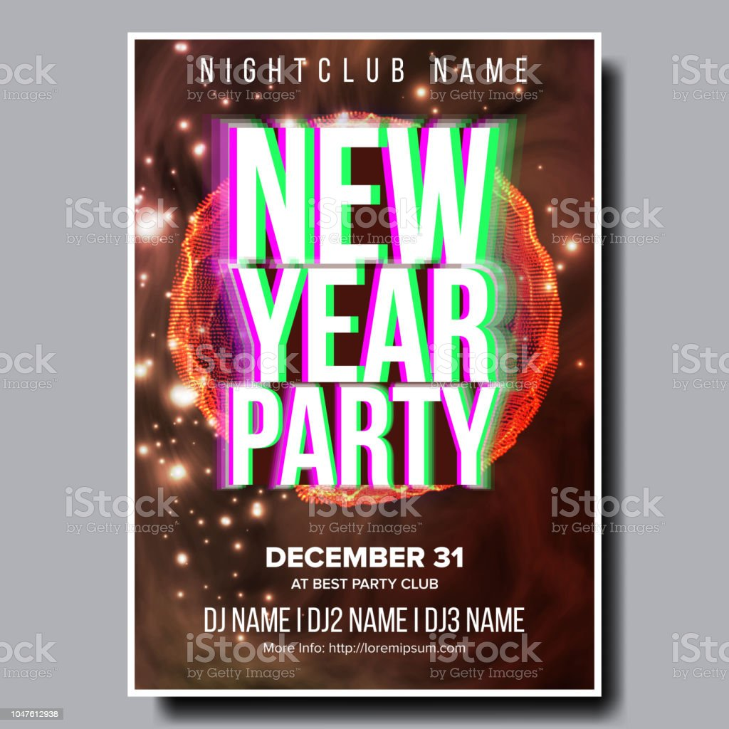 beaufiful new year event names photos new year party design