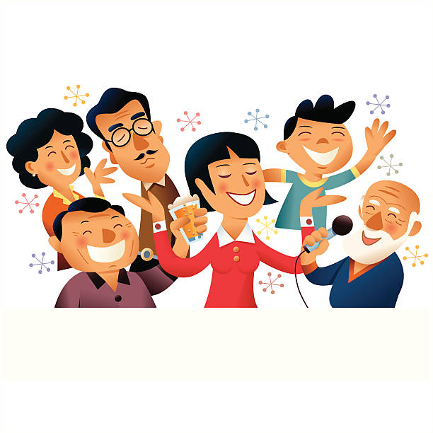 Best Chinese Family Illustrations, Royalty-Free Vector ...